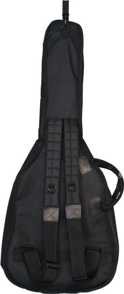 Teton's TC600C Classical Gig Bag, back side