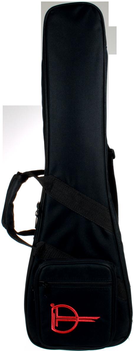 Teton's Black Nylon Ukulele Bags