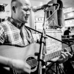 Kenny Lee Young in the studio