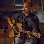 Teton Artist Kenny Lee Young and his Teton Guitar