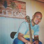 Kenny Lee Young and his Teton Guitar