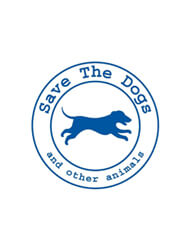 Save the dogs logo