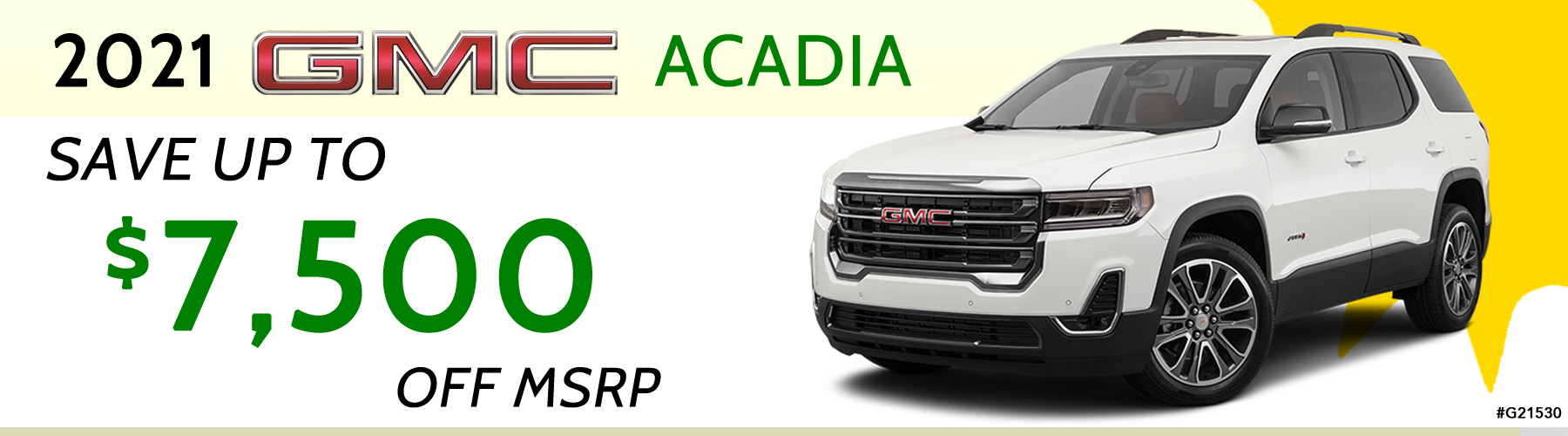Acadia Offer