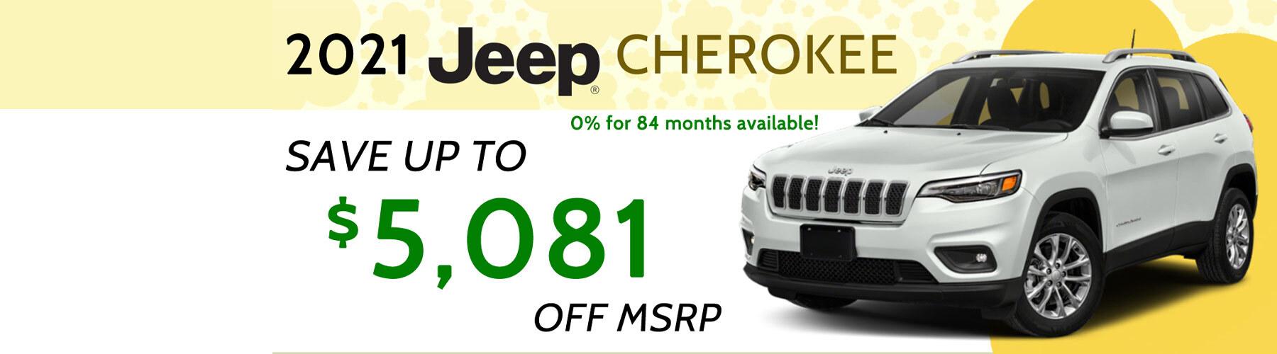 Cherokee Offer