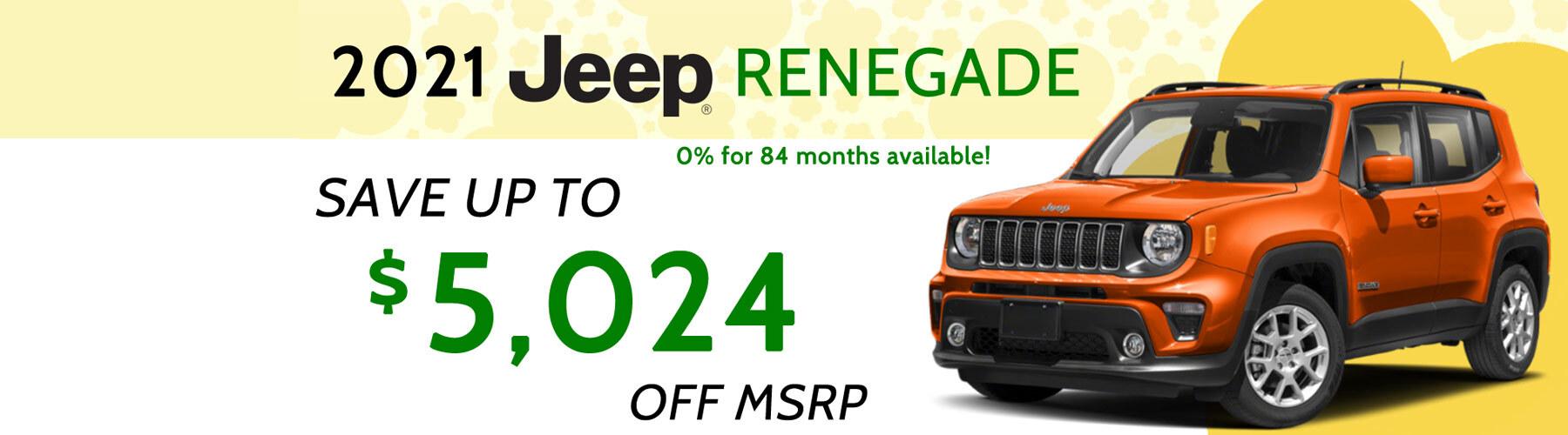 Renegade Offer