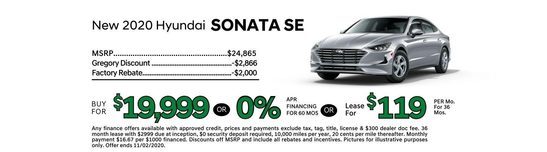 Sonata Offer