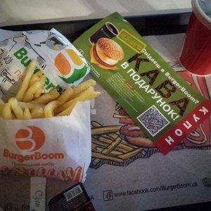 Фотография к отзыву о BurgerBoom (Бургер Бум). Автор Виктория Богдан