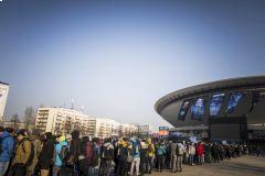 Na grandfinále se čekaly neuvěřitelné fronty •Foto: ESL/Helena Kristiansson