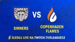 SOUHRN: Sinners v další vyrovnané sérii poráží Copenhagen Flames
