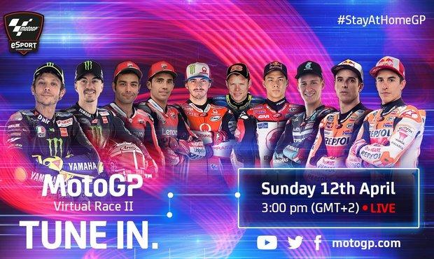 Veterán Rossi si vyzkouší oficiální virtuální závod MotoGP
