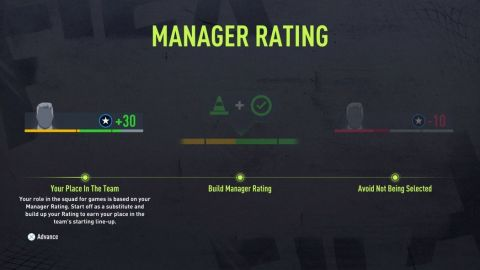 Manager Rating •Foto: EA Sports