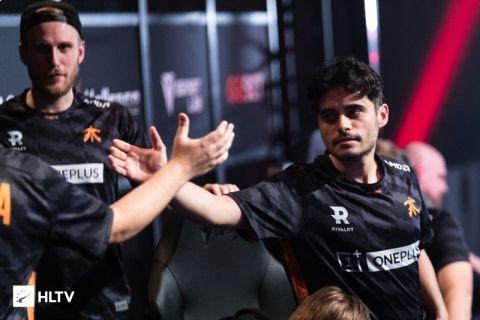 Fnatic je nejlepším CS:GO týmem na světě! Vrátil se na první místo v celkovém žebříčku •Foto: HLTV