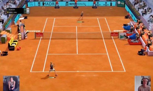 Plíšková první esportový tenisový zápas prohrála. Nejsem královna konzole, řekla