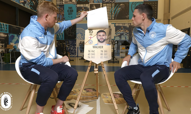 VIDEO: Tak to ne! Vtipná reakce hvězd Manchesteru City na FIFA 22 baví internet