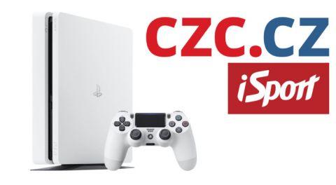 Vyhrajte PlayStation 4 •Foto: Koláž iSport.cz