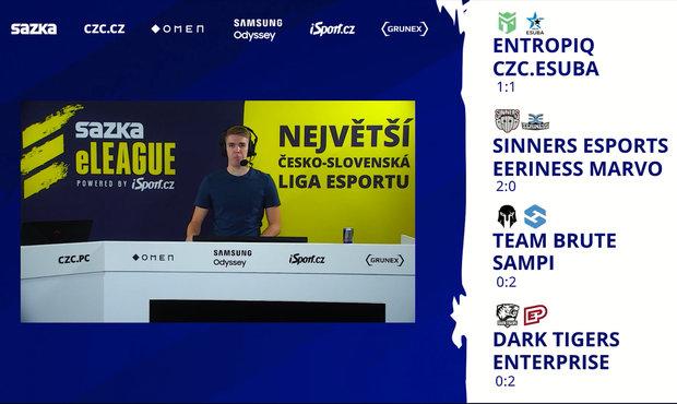 VIDEO: Rozbor 3. kola Sazka eLEAGUE CS:GO: Jak se rodilo vítězství Sampi a Enterprise?