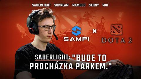 Sampi představil svůj Dota2 tým. Bude patřit k favoritům Sazka eLEAGUE •Foto: Sampi