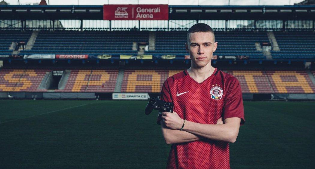Fotografie Emericksona ze zmíněného focení na Letné •Foto: www.sparta.cz