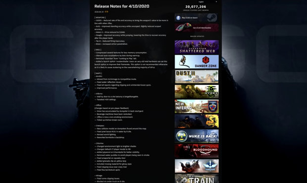 Očekávaný CS:GO Update je tady: Nerfnutý Krieg, ale za jakou cenu?