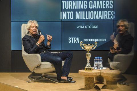 Wim Stocks přednášel o esportu na přednášce Sillcon Valley Insights pořádané STRV •Foto: STRV