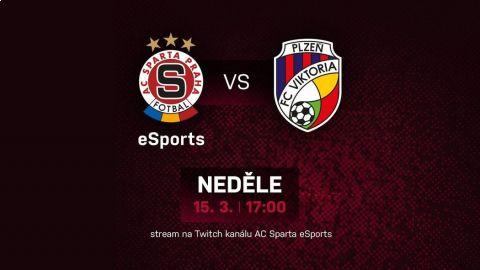 Esportová bitva mezi FIFA hráči AC Sparta Praha a FC Viktorie Plzeň. •Foto: