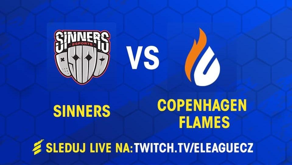 Sinners vyzvou Copenhagen Flames •Foto: Sazka eLEAGUE