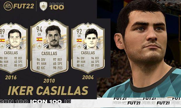 Nové ikony ve FIFA 22: brazilská legenda či Iker Casillas. Kdo bude následovat?