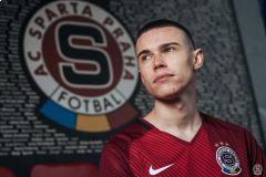 Emerickson téměř dva roky reprezentuje Spartu •Foto: AC Sparta Praha