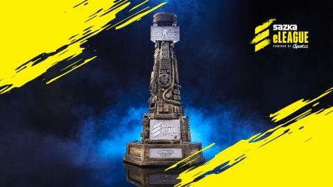 Kdo ukořistí tuto trofej tento rok? •Foto: Sazka eLEAGUE