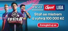 Startuje iSport LIGA! Staň se mistrem ve Fifě a vyhraj 100 000 korun