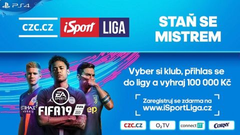 Staň se mistrem CZC.cz iSport LIGY •Foto: iSport.cz