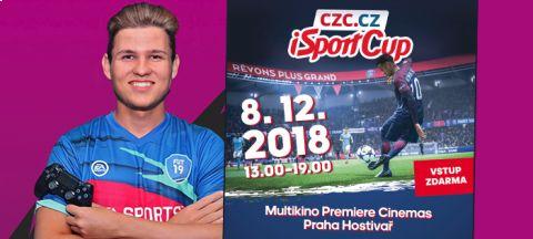 Lukáš Pour, alias T9Laky, je jedním z osmi finalistů CZC.CZ iSportCupu v hraní FIFA 19 •Foto: Koláž iSport.cz