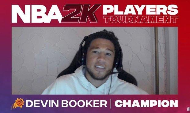 Hráči Phoenixu ovládli turnaj basketbalistů ve hře NBA 2K20. Vítězem je Booker