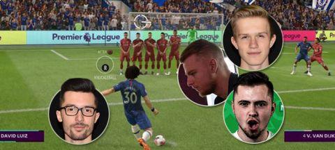 Nové standardky ve FIFA 20! Zvykáme si, shodují se hráči iSport LIGY •Foto: Koláž iSport.cz