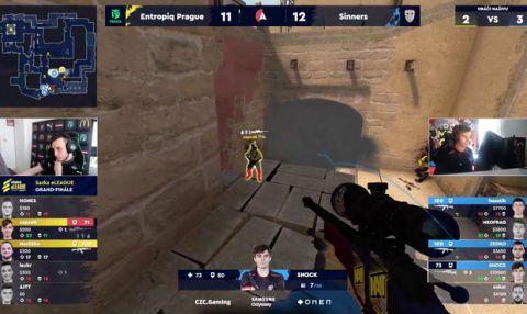TOP 5 akcí grandfinále CS:GO: sniperům to střílelo, přidal se i NEOFRAG