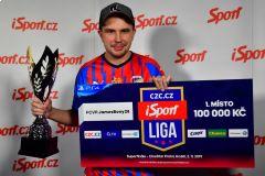 Byl to splněný sen, vzpomíná JamesBony na titul vCZC.cz iSport Lize