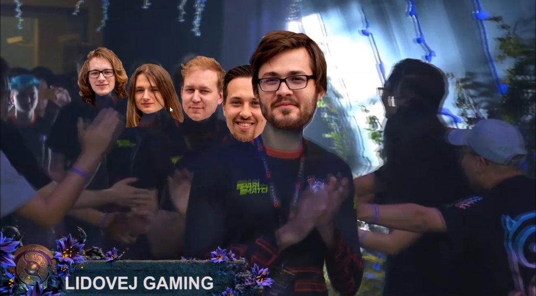 "Borci z Lidovej Gaming •Foto: Lukáš ""Neex"" Baran"