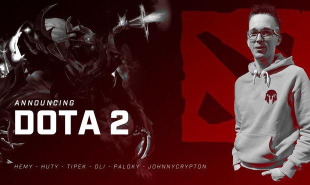 Brute oznámil nový tým v Dotě, koučem sestavy bude legendární JohnnyCryptoN