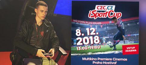 Jeden z favoritů Emerickson, alias Jan Krupička, zve na finále iSportCupu •Foto: Koláž iSport.cz