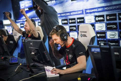 V polských Katovicích probíhá světový šampionát v populární střílečce Counter-Strike: Global Offensive •Foto: ESL/Adela Sznajder