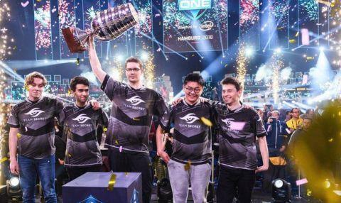 Šampioni! Turnaj ve hře Dota 2 ovládl Team Secret, odváží si téměř tři miliony