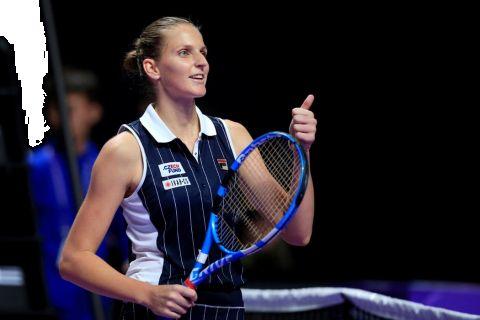 V semifinále Turnaje mistryň se Karolína Plíšková střetne s Ashleigh Bartyovou z Austrálie •Foto: Reuters