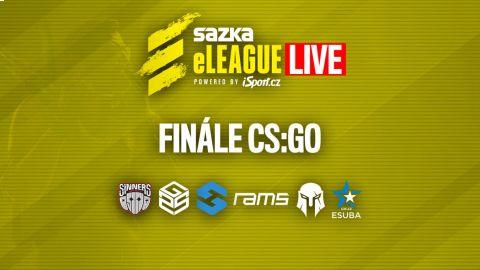 ŽIVĚ: Play off finále Sazka eLEAGUE CS:GO •Foto: Sazka eLEAGUE