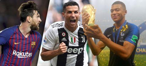 Jak jsou hodnocené největší fotbalové hvězdy v nové FIFA 19? •Foto: Koláž iSport.cz