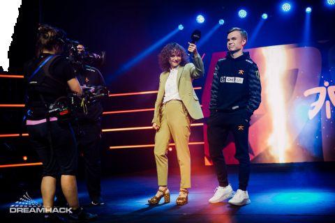 Frankie přináší na stage vždy dobrou náladu •Foto: DreamHack