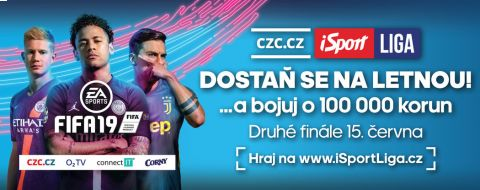 Staň se mistrem CZC.cz iSport LIGY •Foto: Sport