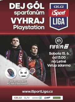 Dej sparťanům gól a vyhraj Playstation! Show FIFA 19 na Letné tuto sobotu