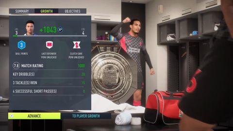 Oslavy po zisku trofeje •Foto: EA Sports