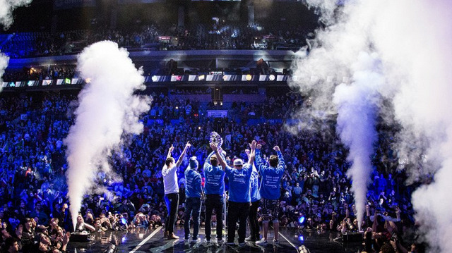 Luminosity Gaming po výhře na Majoru • Foto: Luminosity Gaming