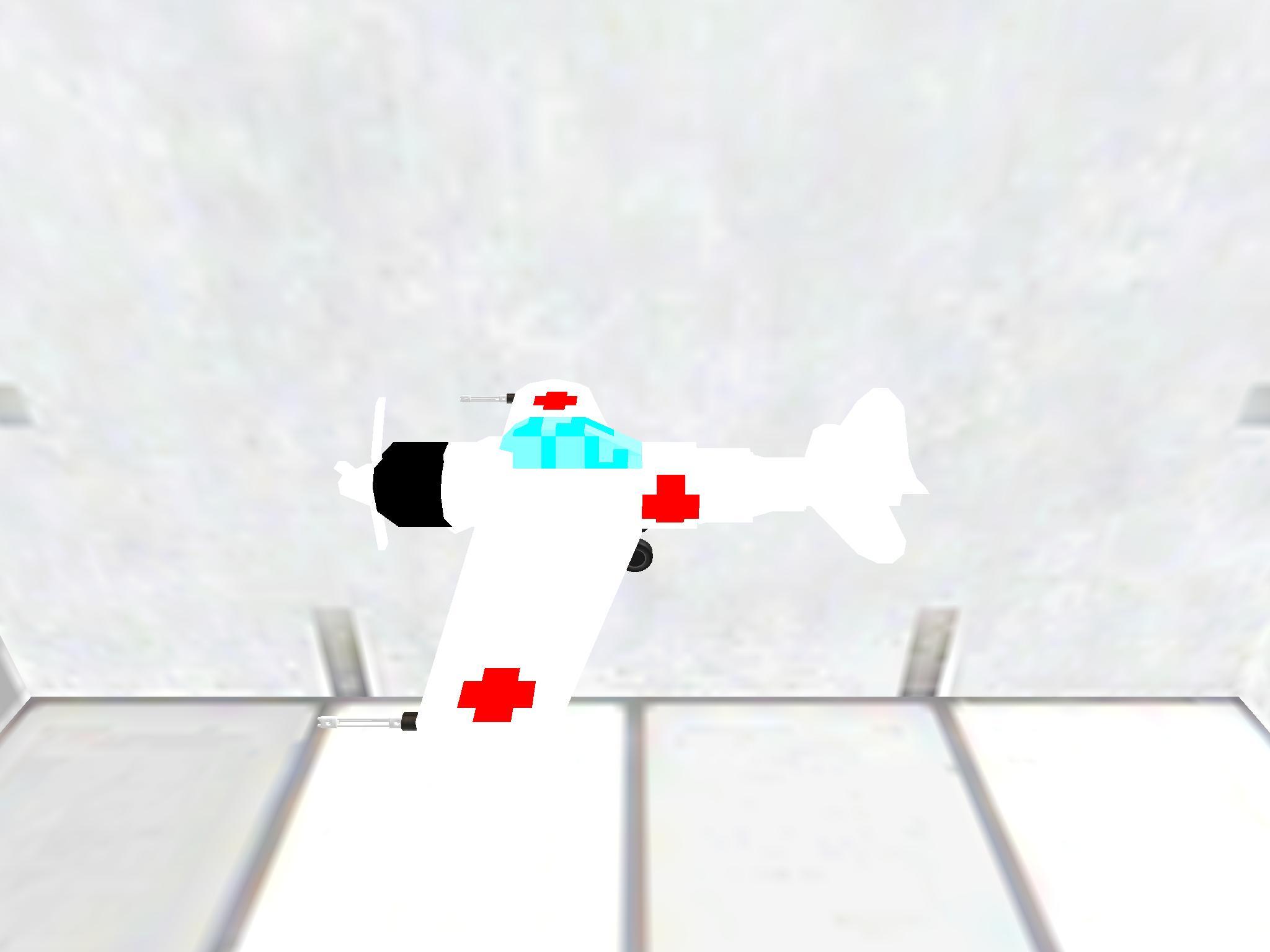 Hospital plane
